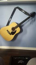 Stagg 6 string acoustic guitar