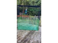 Gerbil/small rodent tank with two levels