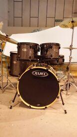 Mapex QRSeries 5 Peice Drum Kit in GRANITE SPARKLE FINISH