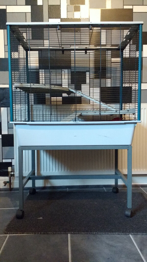 Rat Cage - Ferplast 'Jenny' with stand