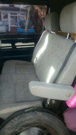 T4 van rear double seats
