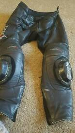 RST BIKE LEATHER TROUSERS