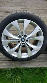 BMW X5 X6 E70 E71 E53 20 INCH ALLOY WHEELS GENUINE 227 M SPORT