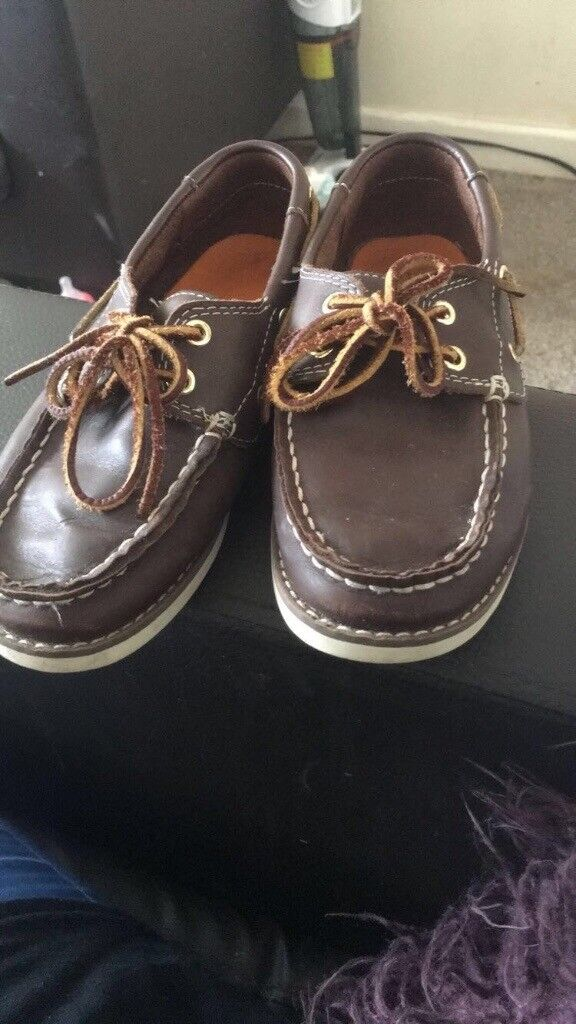 Timberlands boat shoes