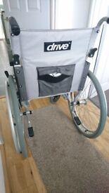 Self propel, foldable, ultra lightweight wheelchair