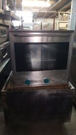 CAFE BAKERY MBM ELECTRIC OVEN TABLE / COUNTER TOP 13A CONVECTION OVEN SIMPLE PLUG IN