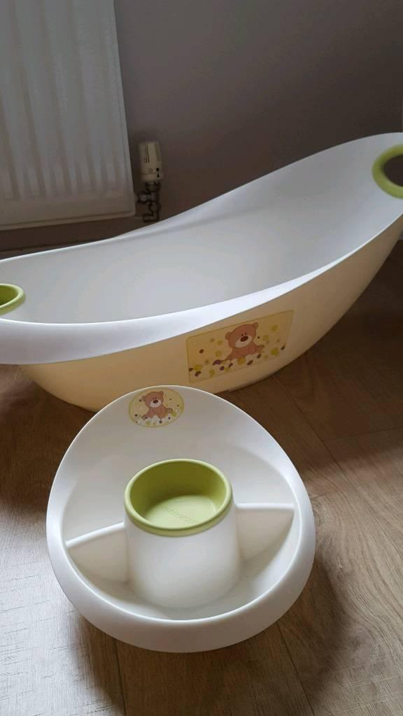 Baby bath set - bath, top & tail bowl and seat