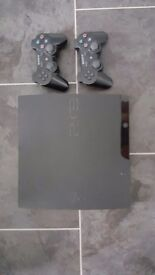 Ps3 with selection of 16 games + 2 controllers