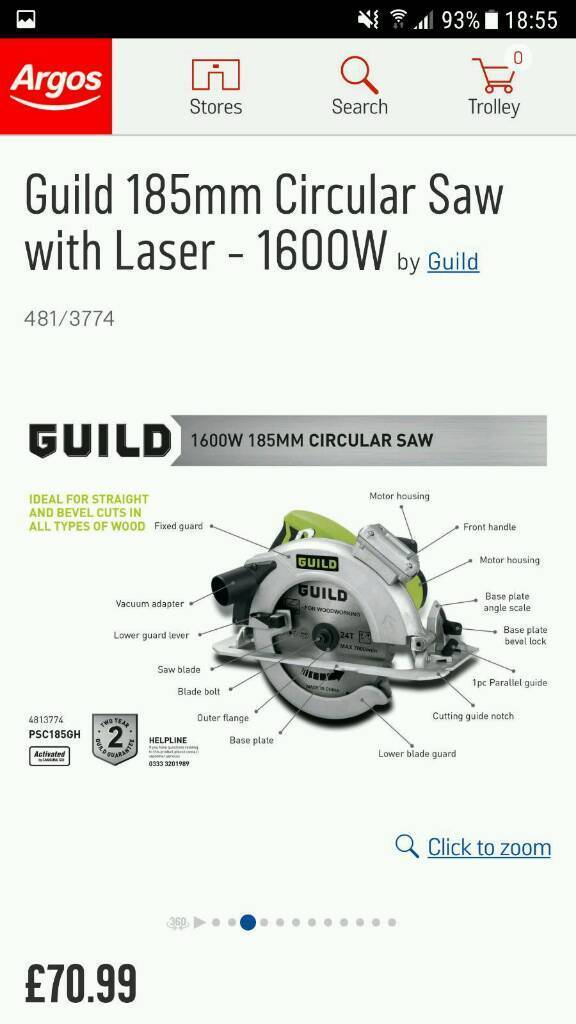 Guild circular saw | in Middlesbrough, North Yorkshire | Gumtree