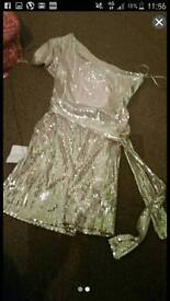 Sequin dress size 8 with tags