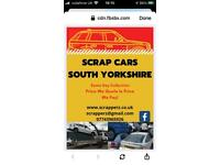 SCRAP VEHICLES WANTED - CARS VANS 4x4 ANYTHING CONSIDERED