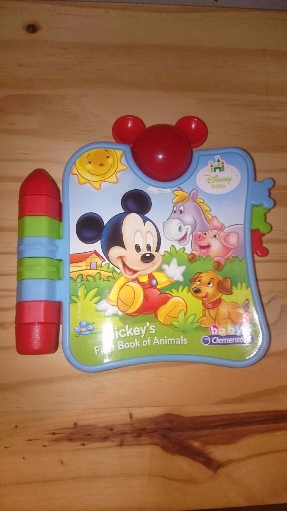 Disney Baby Mickey's First Book of Animals - Mickey Mouse. Christmas gift idea