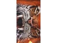 The Mountain Men's- University of Clemson Big Face Tiger Hoodie