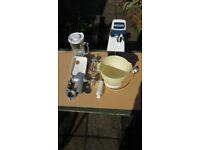 Kenwood food mixer, mincer & liquidiser
