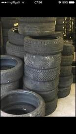 195/50/15 partworn tyres fitted £20