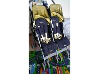 MACLAREN Twin Techno double buggy from birth