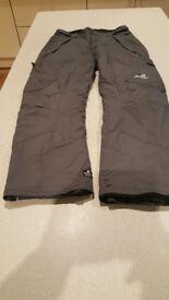 Mens Ski/Snow Salopettes size 34/36