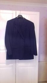 IMMACULATE CONDITION NAVY BAUMLER SUIT FROM SLATERS