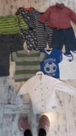 Bundle of Boys Clothes 3-4