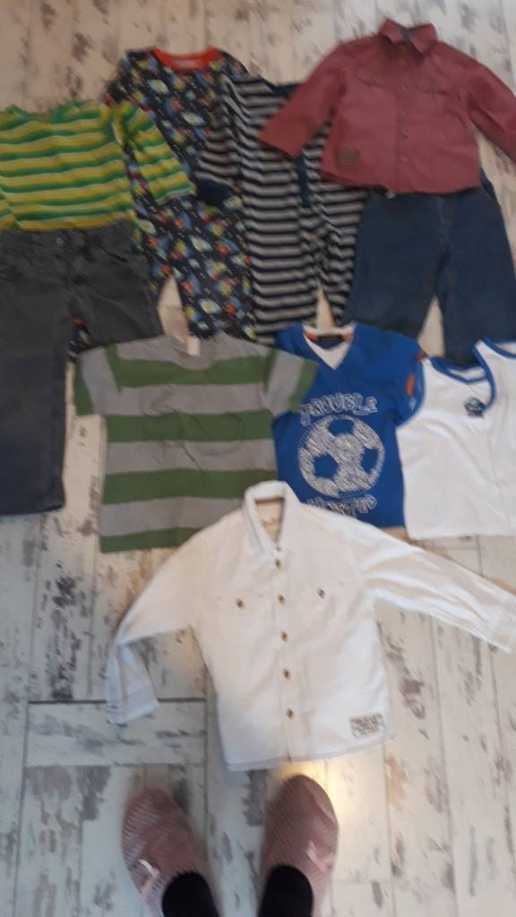 Bundle of Boys Clothes 3-4