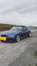 Bmw z3 registered as a 1.9 but has a 2.8 in it.