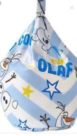 Olaf bean bag