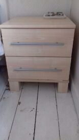 **2 x Bedside chest of drawers 53cm (H), 45cm (D), 47cm (W)Both for £50**