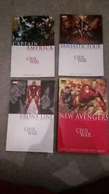 Marvel Civil War graphic novels