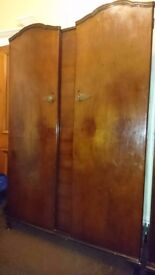 Old Fashioned Double Wardrobe - Excellent Condition