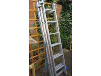 Triple Extension Ladder -max 4.10mtrs