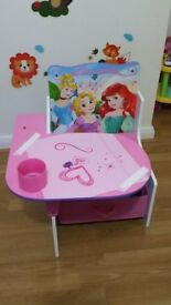 Girls character study desk
