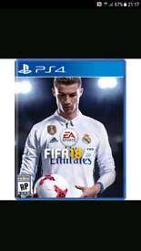 Fifa 18 PS4 Brand new in wrapper PlayStation 4