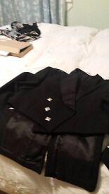 Kilt jacket with waistcoat
