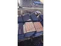230 unused Brindle Redland mini Stonewold roof tiles