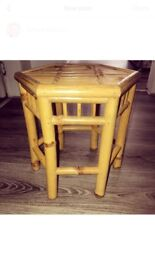 Vintage wooden small table