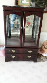 Display Cabinet with drawers
