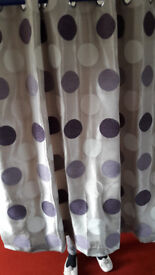 Eyelet Curtains from Dunelm,