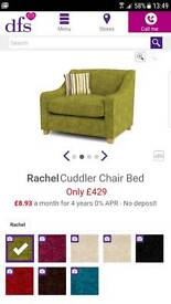 DFS cuddle chair BED EXCELLENT CONDITION