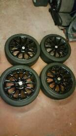 "Mgf mg tf 16"" alloy wheels"