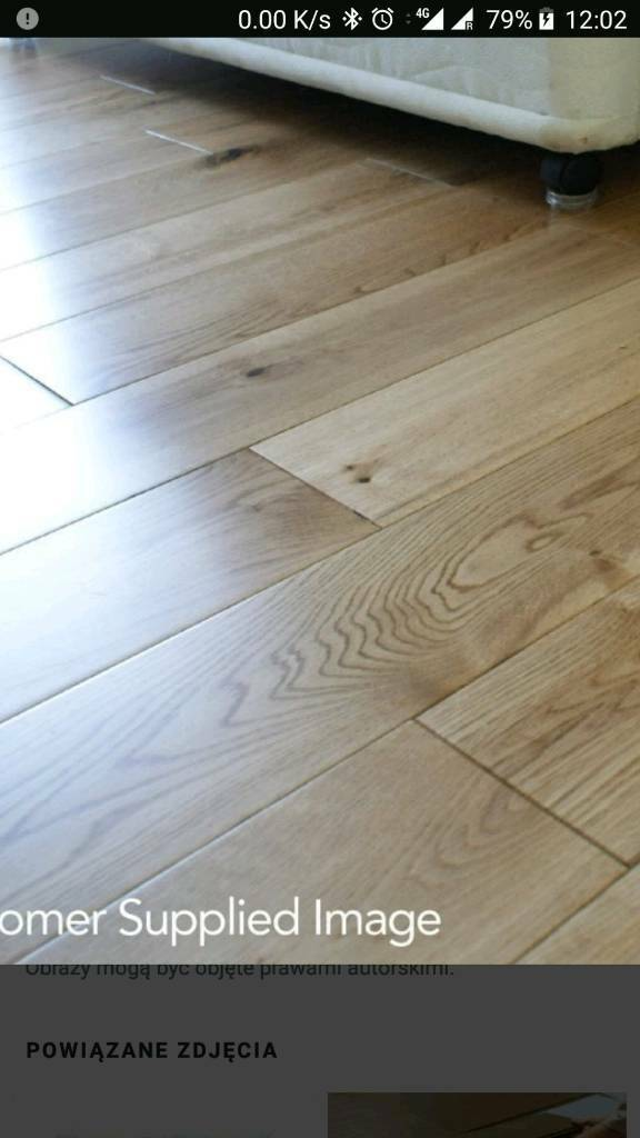 Solid Wood Oak Floor Bq In Blandford Forum Dorset Gumtree
