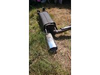 Irmscher exhaust came off vauxhall omega