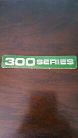 Ford 300 series Retro badge perfect condition.