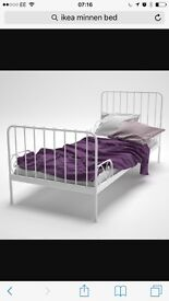 Ikea child's extendable single bed