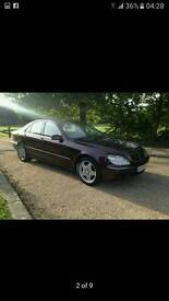 Mercedes s320 full option very clean car