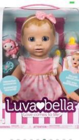 Brand new In box blonde Luvabella