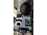 silvercrest digital camping satelite system dvb-s sl 65/12 never been used