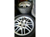 Ford focus alloys with 195 55 15