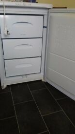 Undercounter freezer, very good condition