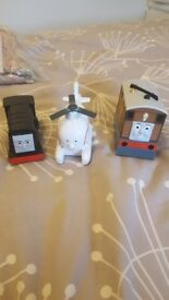Diesel, Harold and talking Toby figures