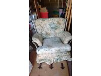 Free Two seater sofa and two arm chairs